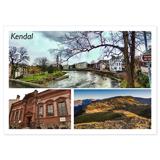 Kendal - Sold in pack (100 postcards)