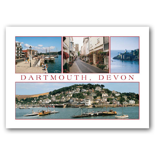 Dartmouth - Sold in pack (100 postcards)