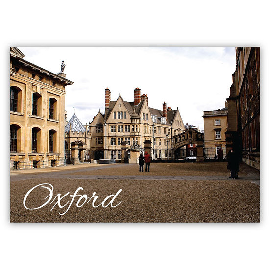 Oxford - Sold in pack (100 postcards)