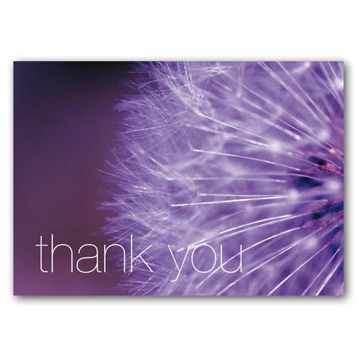 Statement - Thank You - Sold in pack (100 postcards)