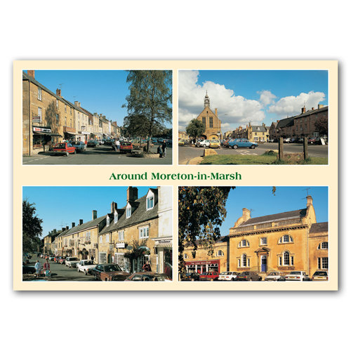 Moreton in Marsh Around Comp - Sold in pack (100 postcards)