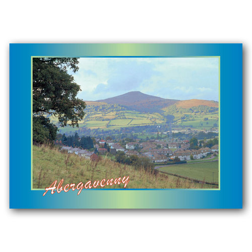 Abergavenny Sugar Loaf Mountain - Sold in pack (100 postcards)