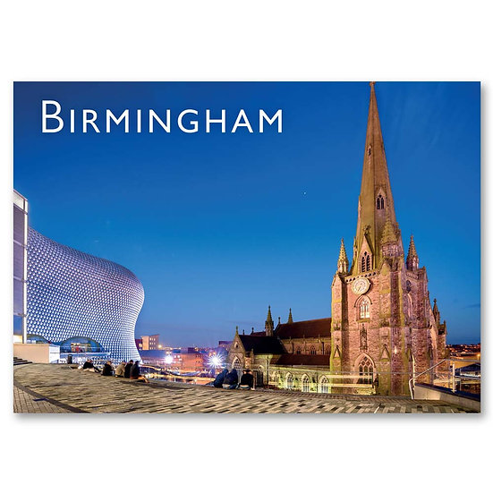 Birmingham, Church of St Martin in the Bull Ring - Sold in pack (100 postcards)
