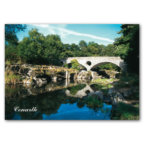 Cenarth - Sold in pack (100 postcards)