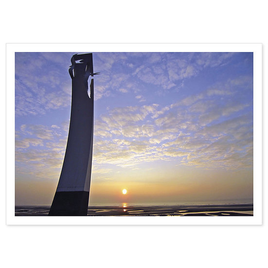 Fydle Coast, Cleveleys - Sold in pack (100 postcards)