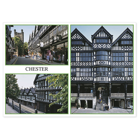 Chester Compilation - Sold in pack (100 postcards)