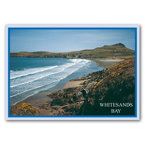 Whitesands Bay Wales - Sold in pack (100 postcards)