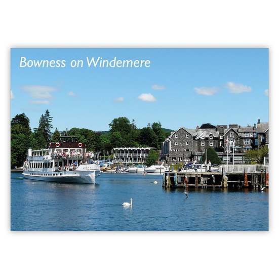 Bowness on Windermere - Sold in pack (100 postcards)