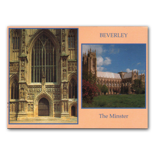 Beverley Minster - Sold in pack (100 postcards)