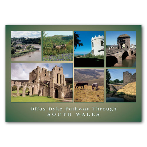 Offas Dyke Pathway - Sold in pack (100 postcards)