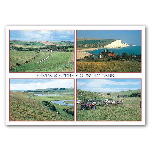 Eastbourne Seven Sisters Country Park - Sold in pack (100 postcards)