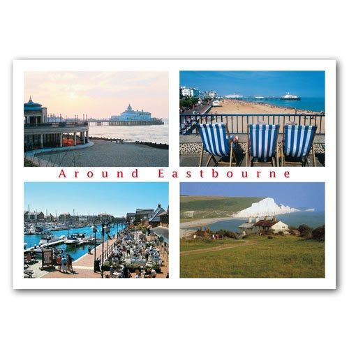 Eastbourne Around - Sold in pack (100 postcards)