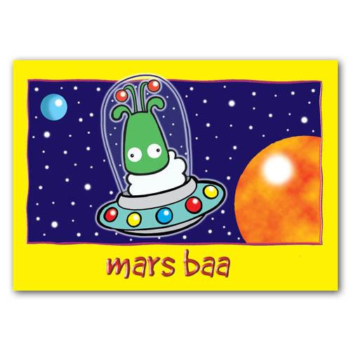Baa - Mars Baa - Sold in pack (100 postcards)