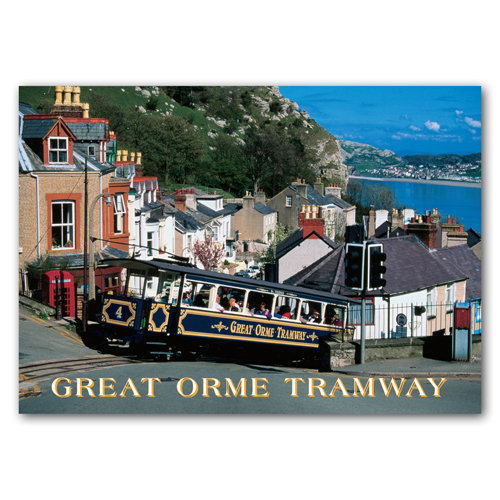 Llandudno Great Orme Tramway - Sold in pack (100 postcards)