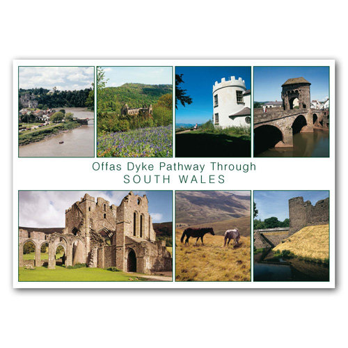 Wales Offas Dyke Pathway - Sold in pack (100 postcards)