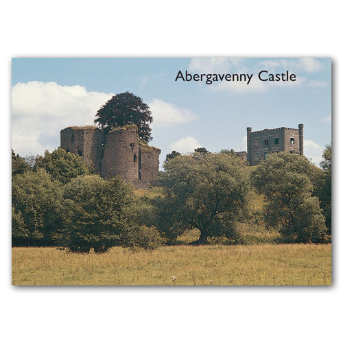 Abergavenny Castle - Sold in pack (100 postcards)