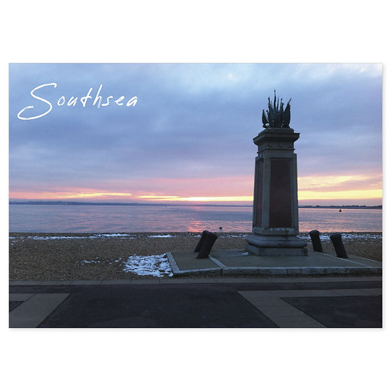Southsea Sunset - Sold in pack (100 postcards)
