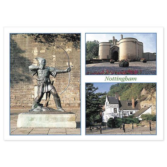 Nottingham Comp - Sold in pack (100 postcards)
