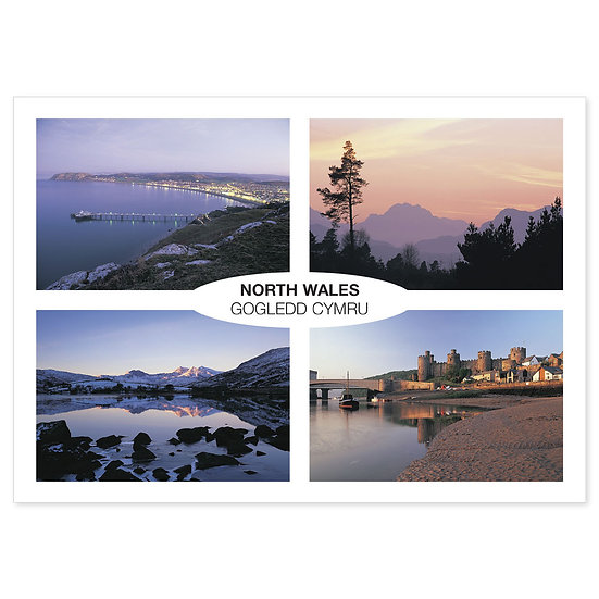 North Wales Comp - Sold in pack (100 postcards)