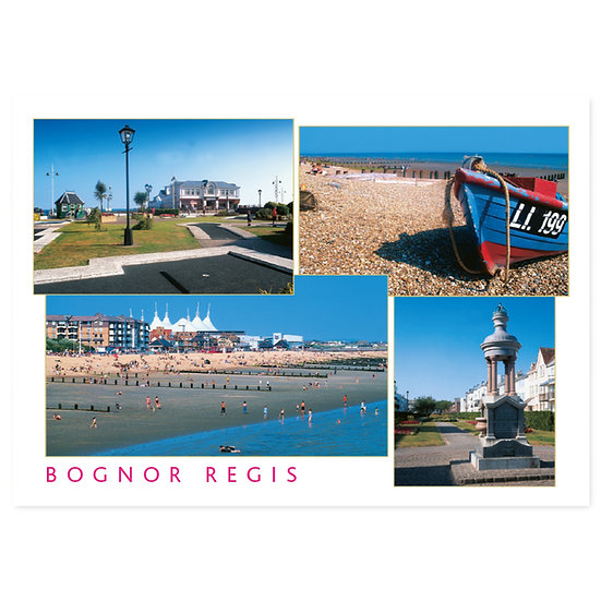 Bognor Regis Compilation - Sold in pack (100 postcards)