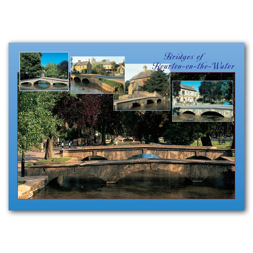 Bourton on the Water Comp - Sold in pack (100 postcards)