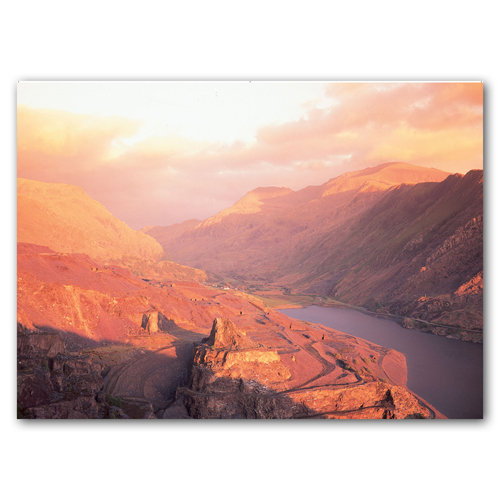 Dinorwic Slate Quarries - Sold in pack (100 postcards)