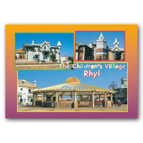 Rhyl The Children's Village - Sold in pack (100 postcards)