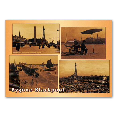 Blackpool Bygone - Sold in pack (100 postcards)