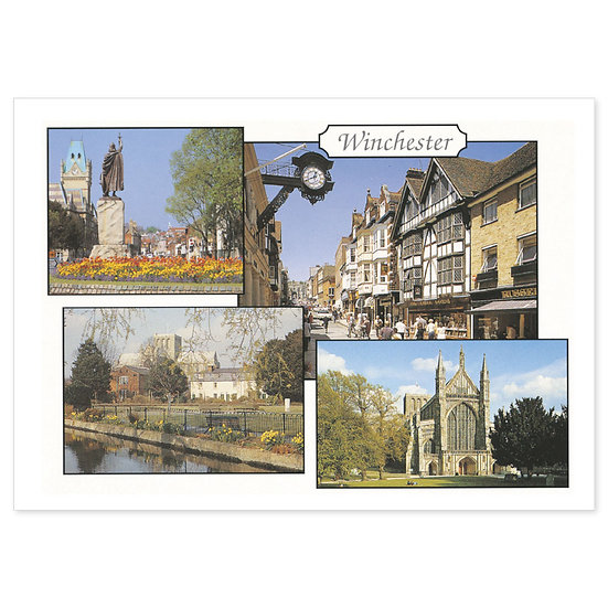 Winchester Compilation - Sold in pack (100 postcards)