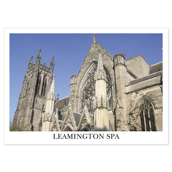 Leamington Spa  Church of All Saints - Sold in pack (100 postcards)