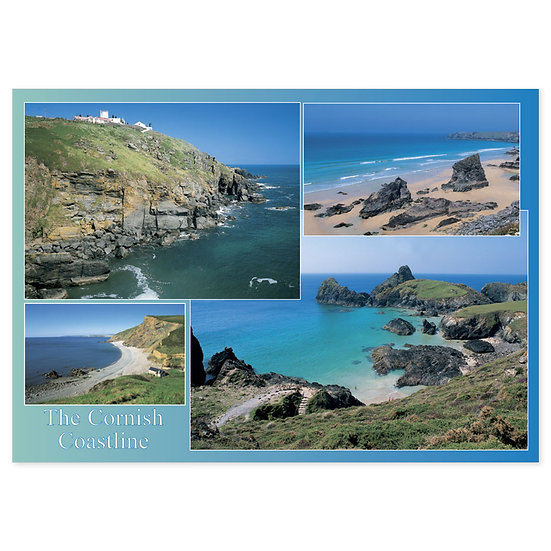 Cornish Coastline - Sold in pack (100 postcards)