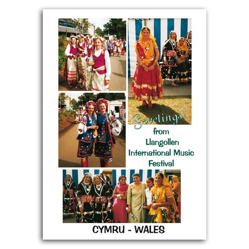 Llangollen Music Festival - Sold in pack (100 postcards)