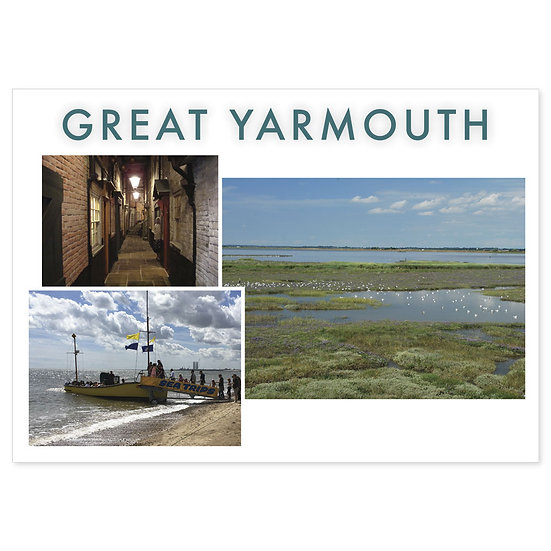 Great Yarmouth - Sold in pack (100 postcards)