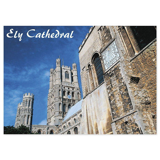 Ely Cathedral - Sold in pack (100 postcards)
