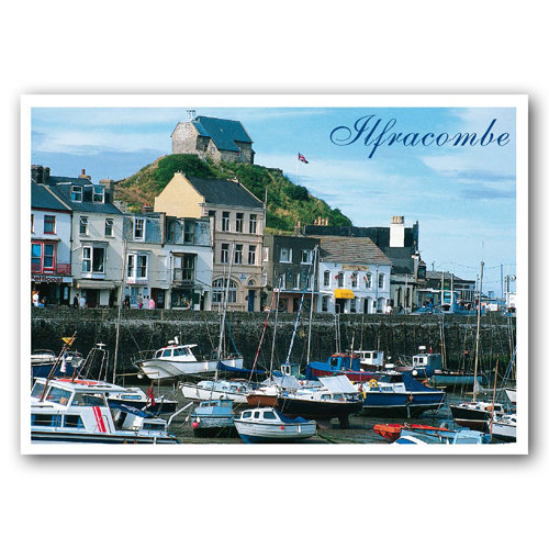 Ilfracombe - Sold in pack (100 postcards)