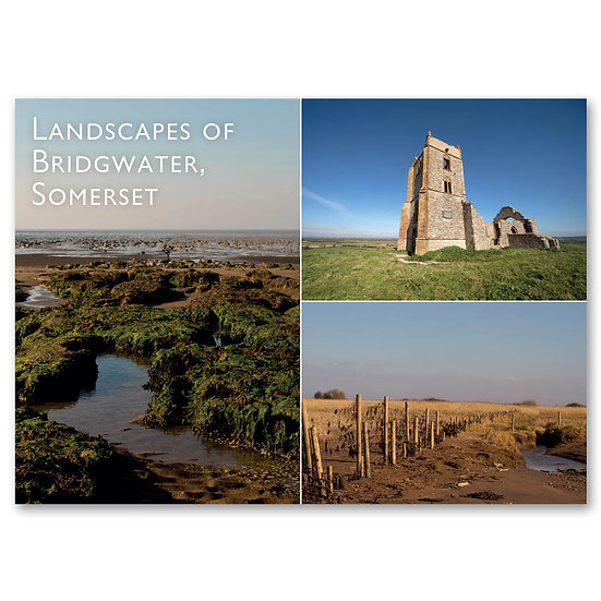 Bridgewater, Landscapes of 3 view Composite - Sold in pack (100 postcards)