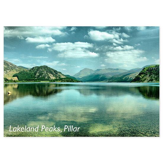 Lakeland Peaks, Pillar - Sold in pack (100 postcards)