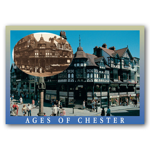 Chester Visions of Time - Sold in pack (100 postcards)