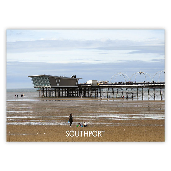 Southport Pier - Sold in pack (100 postcards)