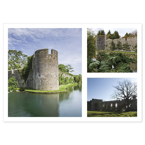 Wells Bishops Palace Comp - Sold in pack (100 postcards)