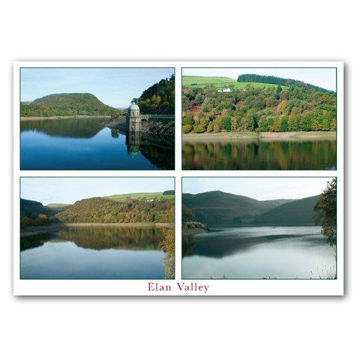 Elan Valley - Sold in pack (100 postcards)