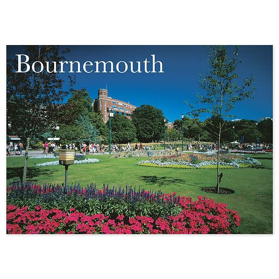 Bournemouth Garden and Stream - Sold in pack (100 postcards)