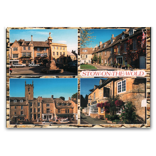 Stow on the Wold Comp - Sold in pack (100 postcards)