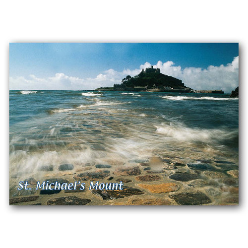 St Michaels Mount - Sold in pack (100 postcards)