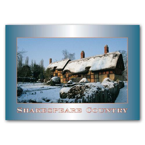 Stratford-Upon-Avon Shake - Sold in pack (100 postcards)