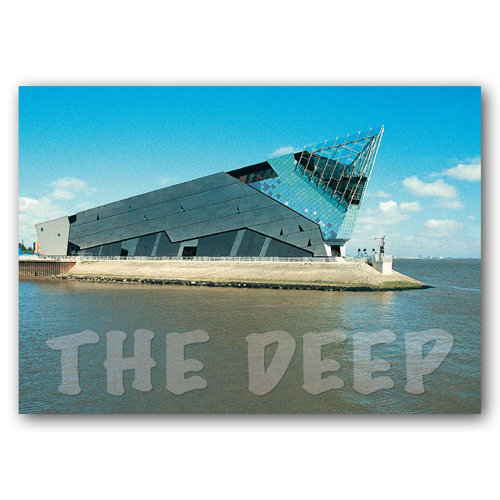 Hull - The Deep - Sold in pack (100 postcards)