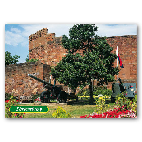 Shewsbury - Sold in pack (100 postcards)