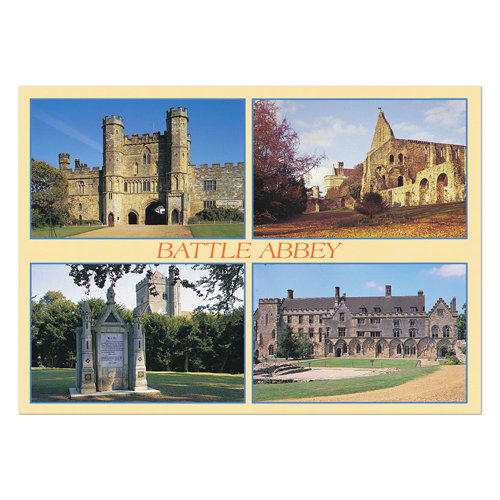 Battle Abbey - Sold in pack (100 postcards)