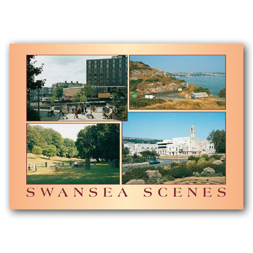 Swansea Comp - Sold in pack (100 postcards)