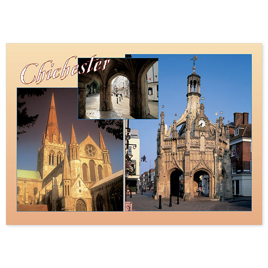 Chichester Cathedral Compilation - Sold in pack (100 postcards)